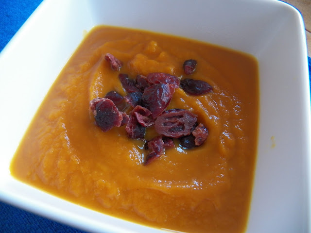 Ginger Curried Pumpkin Soup