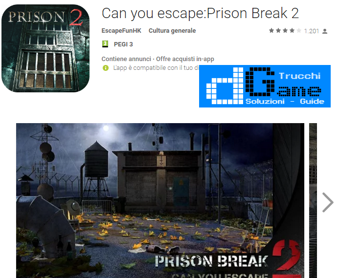 Soluzioni Can you escape:Prison Break 2  di tutti i livelli | Walkthrough guide