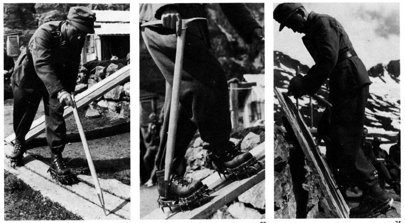 Men Of Wehrmacht: Waffen-SS Mounteineering Training