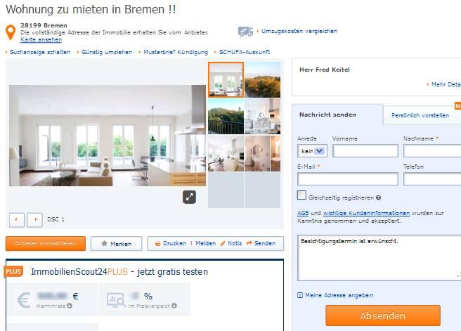 Pedersen mikkel for Wohnung mieten in bremen