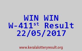 WIN WIN Lottery W 411 Results 22-5-2017
