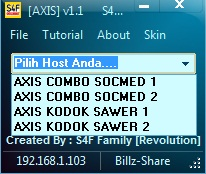 Inject Axis S4F Revolution v1.1 04 Juni 2016