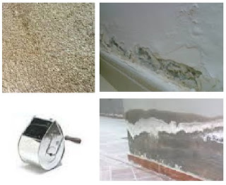 علاج رطوبة الجدران و الحوائط-ديكور لاخفاء شكل الرطوبة في الحائط