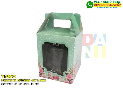 Paperbox Drinking Jar Liana