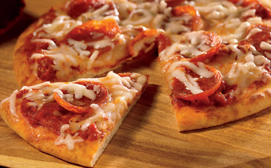Personal Three-Cheese Pepperoni Pizza Recipe