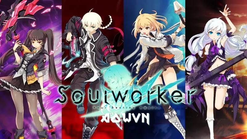 Soul Worker AowVN%2B%252811%2529 - [ PC Online ] Soul Worker + Patch ENG | Game Anime cực hay