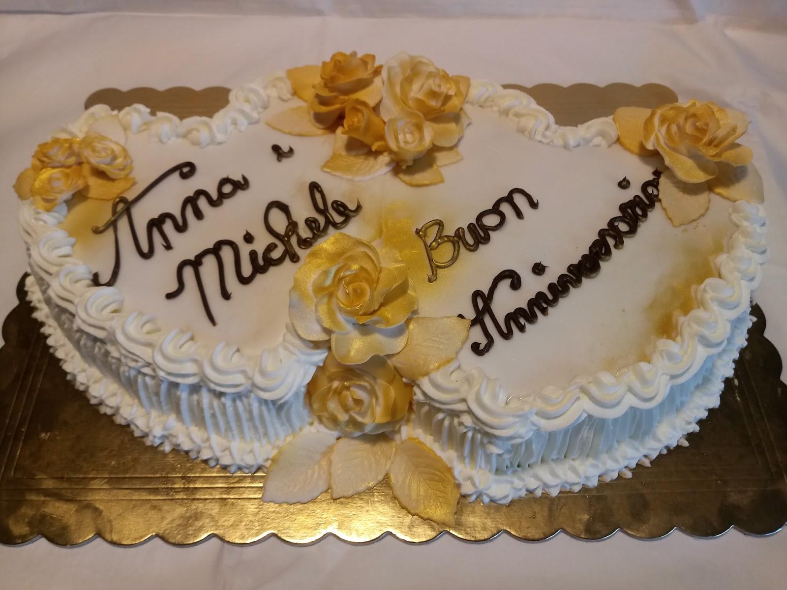 Sweet emma for Decorazione torte per 50 anni di matrimonio