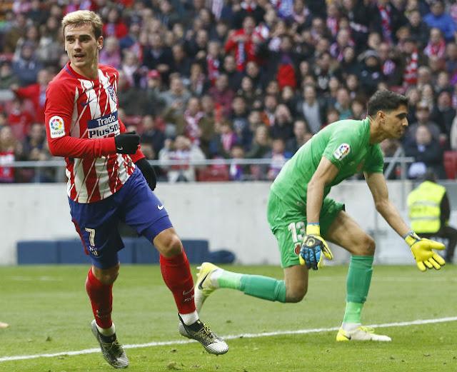 Video Altetico Madrid - Girona: Một giây lơ là, đòn đau phút 73