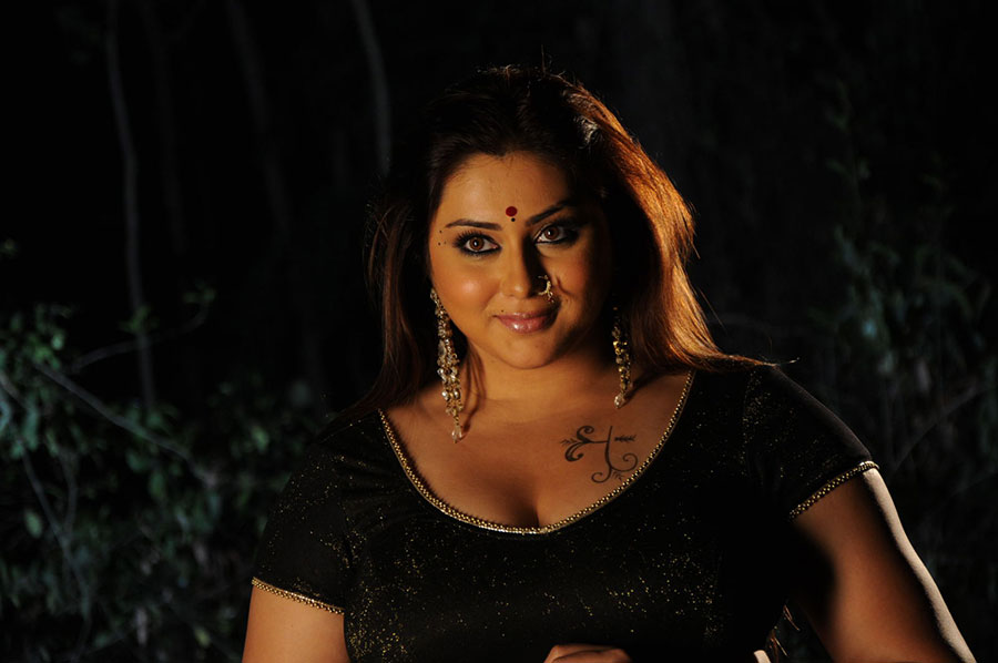 Namitha new hot photos from baja bajantrillu