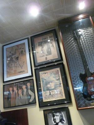 Sticky Finger restaurant des Rolling Stones Londres