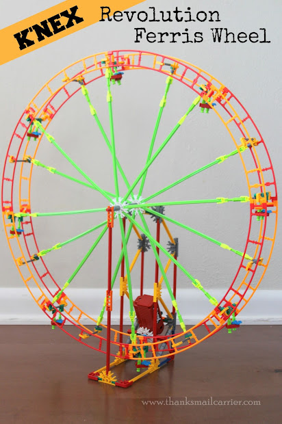 Mail Carrier 'nex Revolution Ferris Wheel Building Set & Giveaway