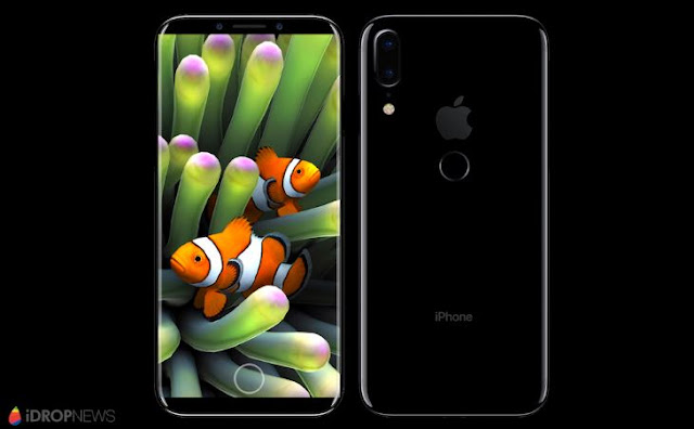 Apple's next generation iPhone 8 (iPhone Edition) will have Vertical Dual Cameras along with the Touch ID Sensor in the back rather than in front as in the current iPhones