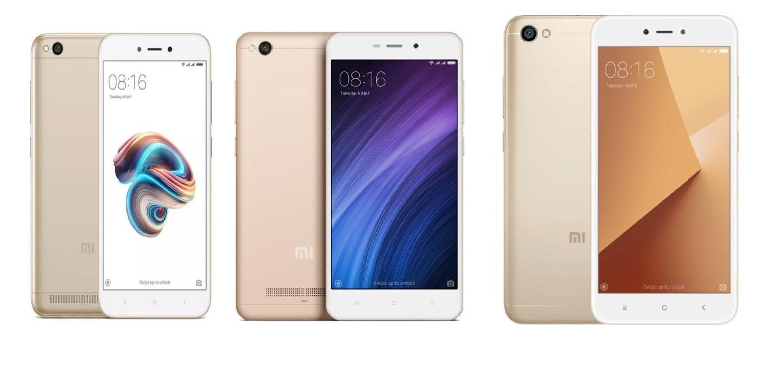 Xiaomi Redmi 5a Vs 4a Y1 Lite Hd Displaysnapdragon 3 32gb Gold