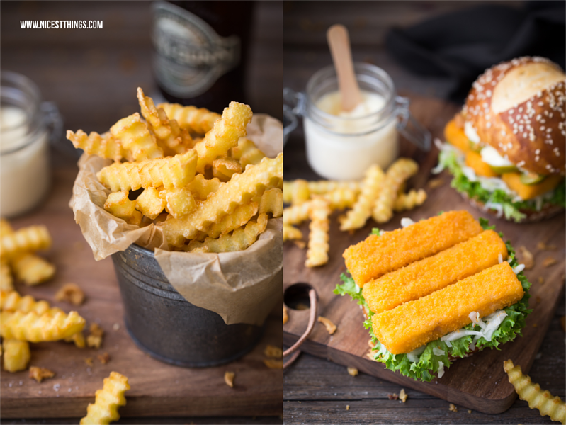 Fish and Chips Burger