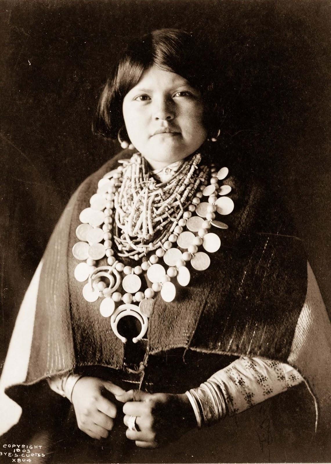 A Zuni woman. 1903.
