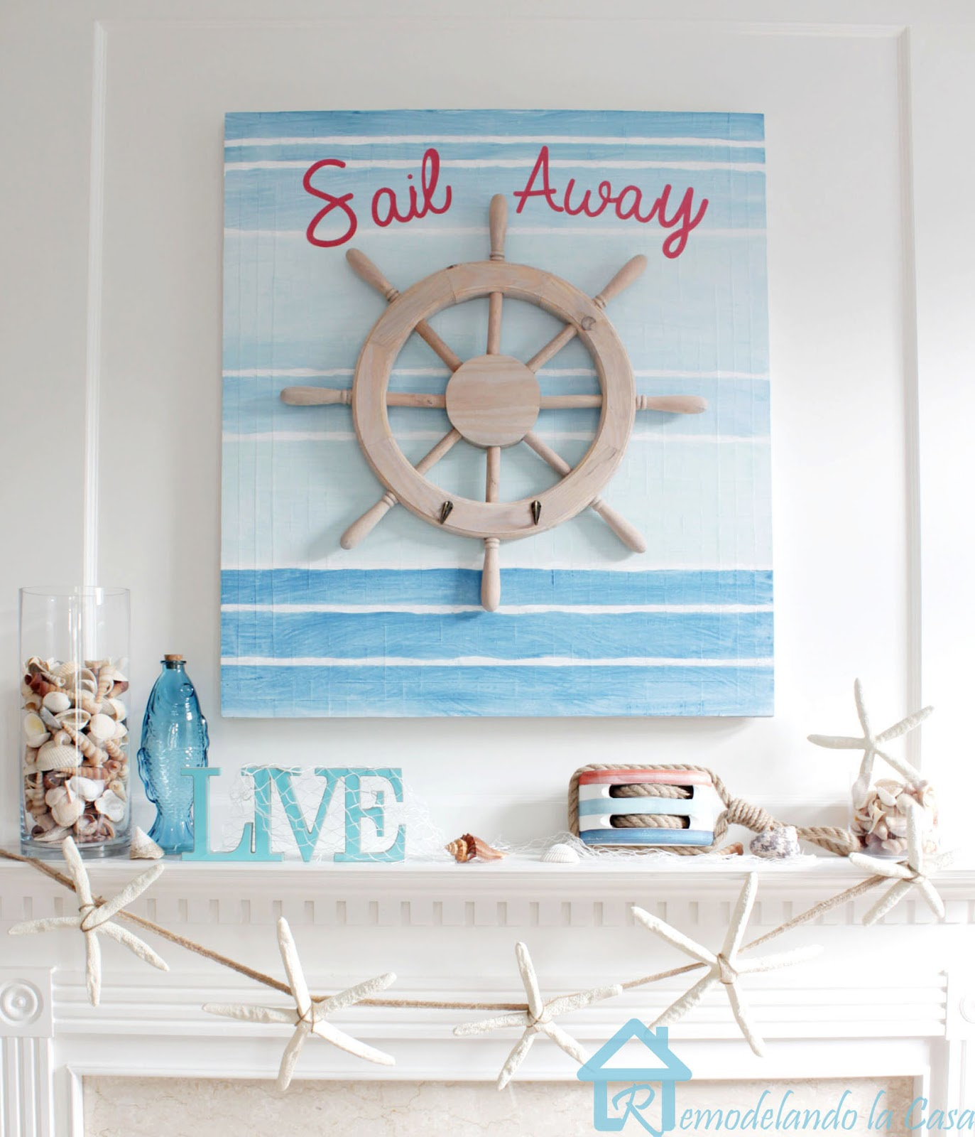 36 Breezy Beach Inspired Diy Home Decorating Ideas: DIY Home Decor Ideas