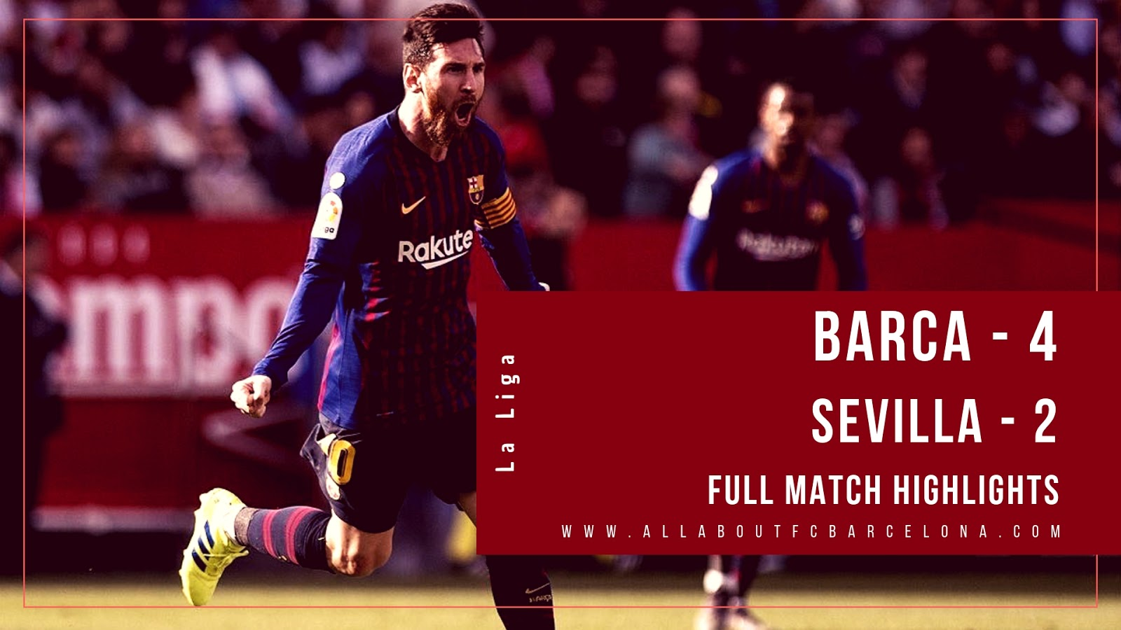Barca vs Sevilla Match Highlights #Barca #BarcaSevilla