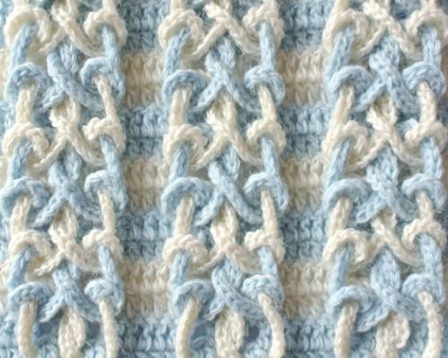 Double Knot Stitch - Free Crochet Pattern