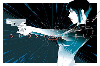 "Ghost in the Shell ""The Major"" Regular Edition Screen Print by Craig Drake x Hero Complex Gallery"