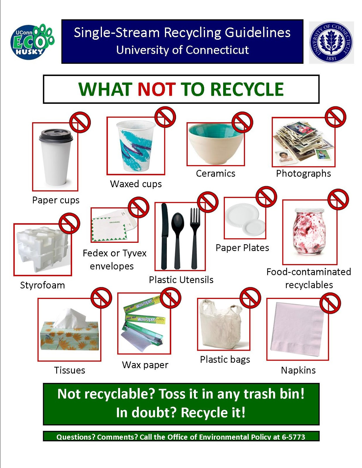 How To Recycle Recycling Awareness Posters Campaign
