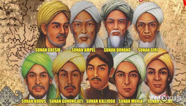 9 Nama Nama Wali Songo Beserta Gambar, Sejarah, Nama Asli, Gelar, Julukan, Makam, dan Asalnya