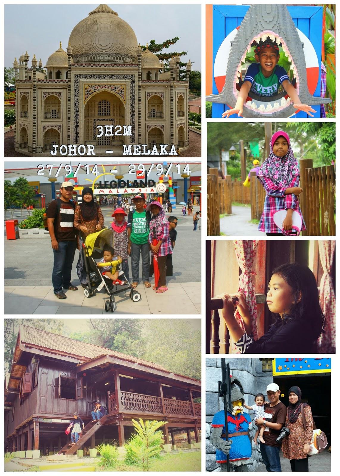 Percutian 3H2M Johor-Melaka