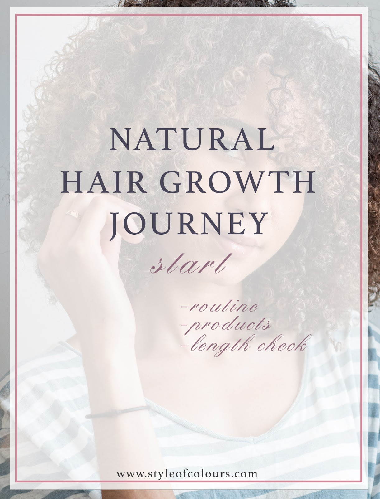 Natural Hair Growth Journey: Length Check, Products and more