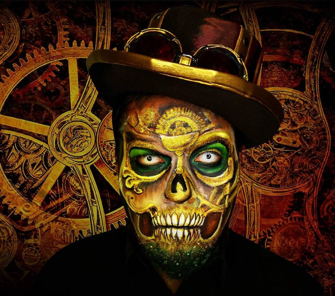 01-Sugar-Skull-Alexander-Ojodelince-Body-Painting-that-Transforms-you-into-Art-www-designstack-co