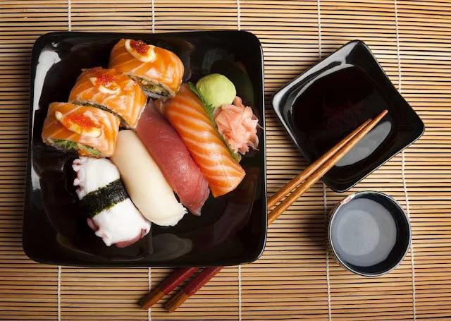 gastronomía comida japonesa