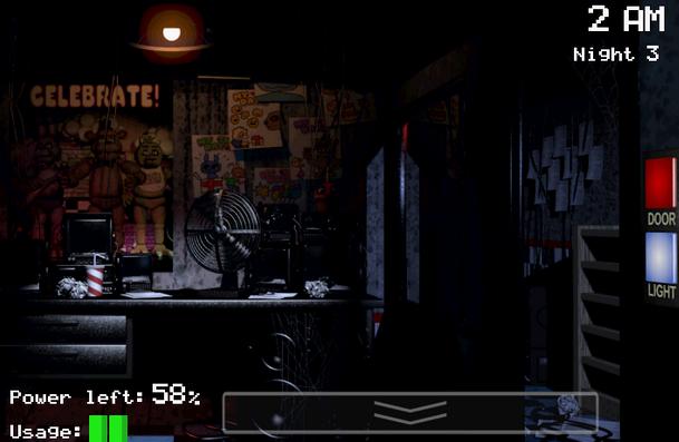 تحميل لعبة الرعب Five Nights at Freddy's مجانا للاندرويد