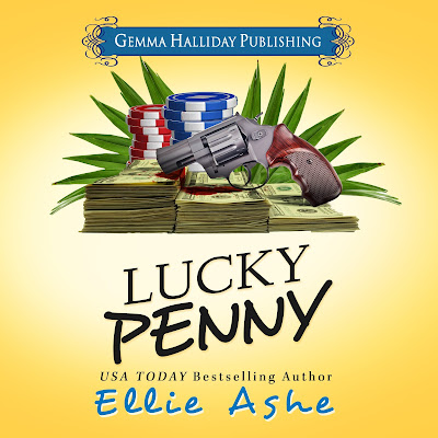 Audiobook Tour: Miranda Vaughn Mysteries #Lucky Penny @EllieAshe