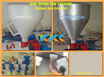 jual alat spray gun cat tekstur