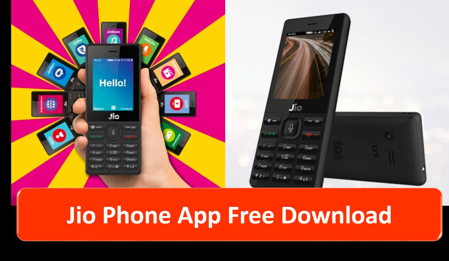 download app for jio phone