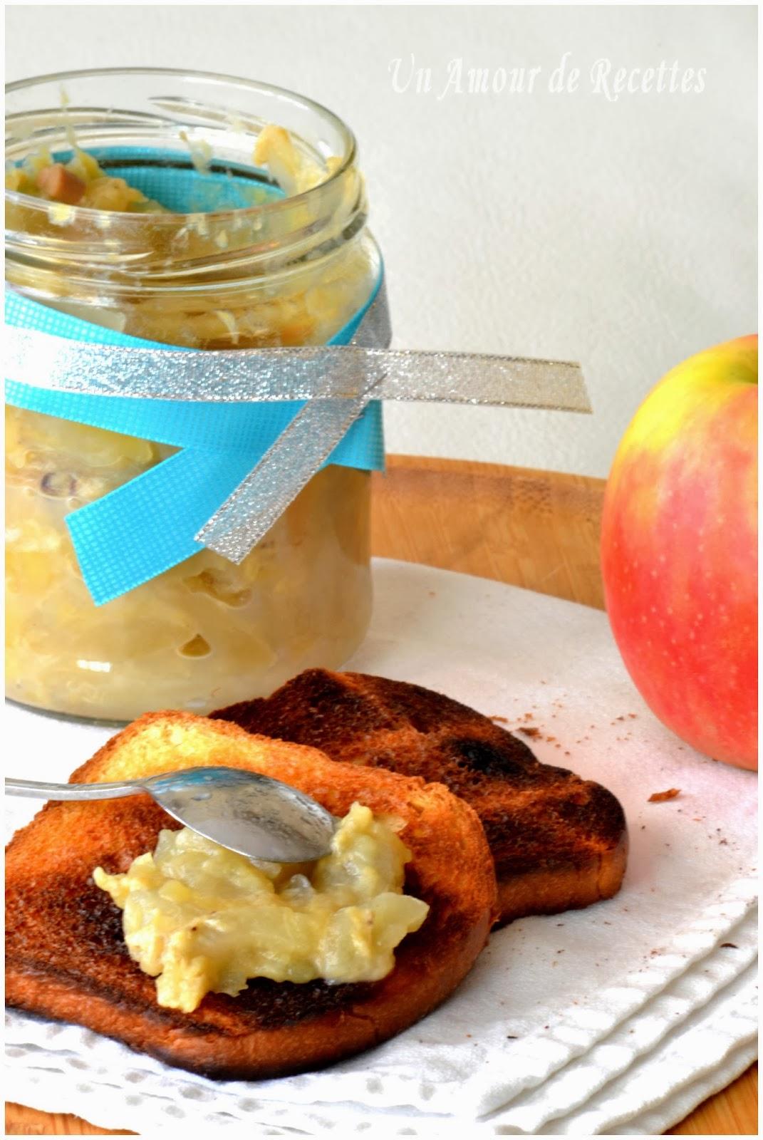 compote de pommes banane et f ve tonka blogs de cuisine. Black Bedroom Furniture Sets. Home Design Ideas