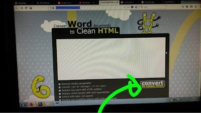 Cara Memasukkan File Word ke Blog Agar Rapi