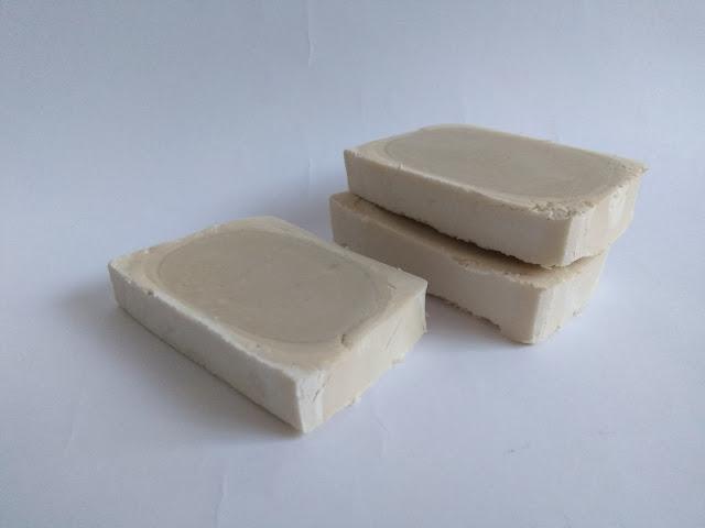 Pastillas de Jabón de SOSA con aceite usado