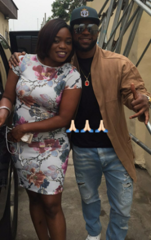 Photos: Former Project Fame contestants, Iyanya & Bisola reunite