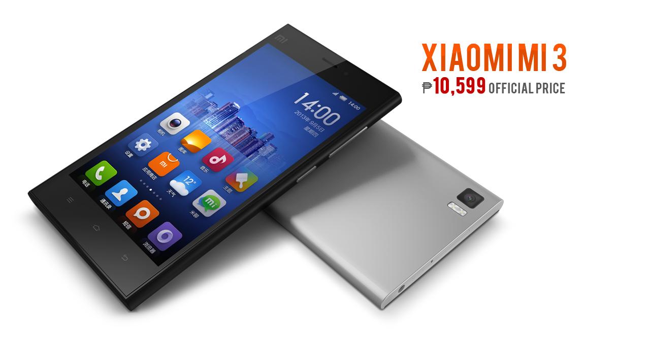 Xiaomi Mi 3 Officially Priced    10 599 in the Philippines - Full    Xiaomi Mi3 Grey