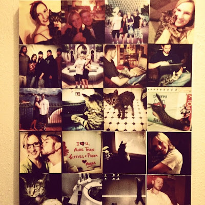 craftymeesa: Instagram Collage Wall Art