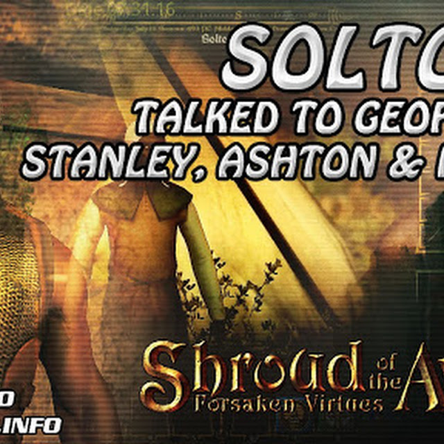 Soltown ★ Talked To Geof, Linda, Stanley, Aston & Marian ★ Shroud of the Avatar Gameplay 2016