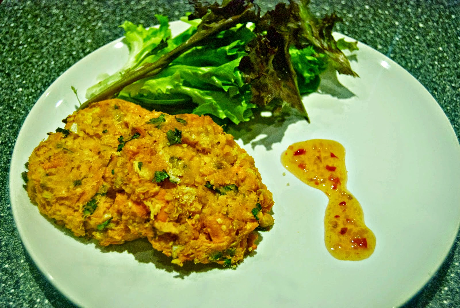 Recipe Sweet Potato and Chickpea Cakes