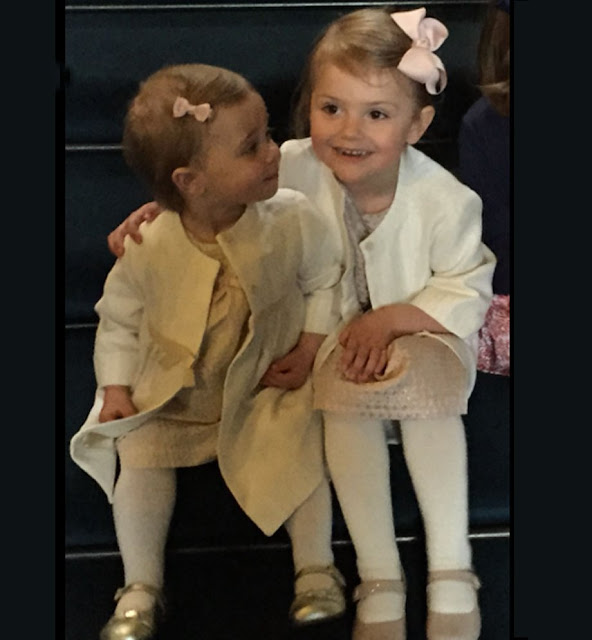 In the name of her daughter, Leonore, Princess Madeleine of Sweden celebrated her nephew, Princess Estelle's 4th birthday on Facebook and shared a photo showing cousins during the wedding ceremony of Prince Carl Philip and Sofia Hellqvist.