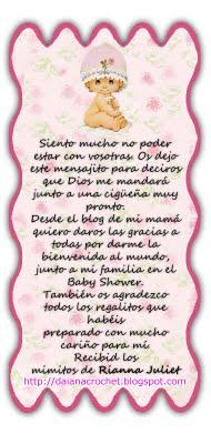 Palabras De Agradecimiento Por Baby Shower : palabras, agradecimiento, shower, Laura, Ivonne, Creaciones:, Gané, Sorteo,, Bolsita, Mandados