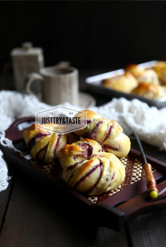 Resep Roti Manis Ubi Jalar Ungu