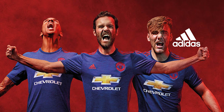 promo code dedb3 7a90c Manchester United 16-17 Away Kit Released - Footy Headlines