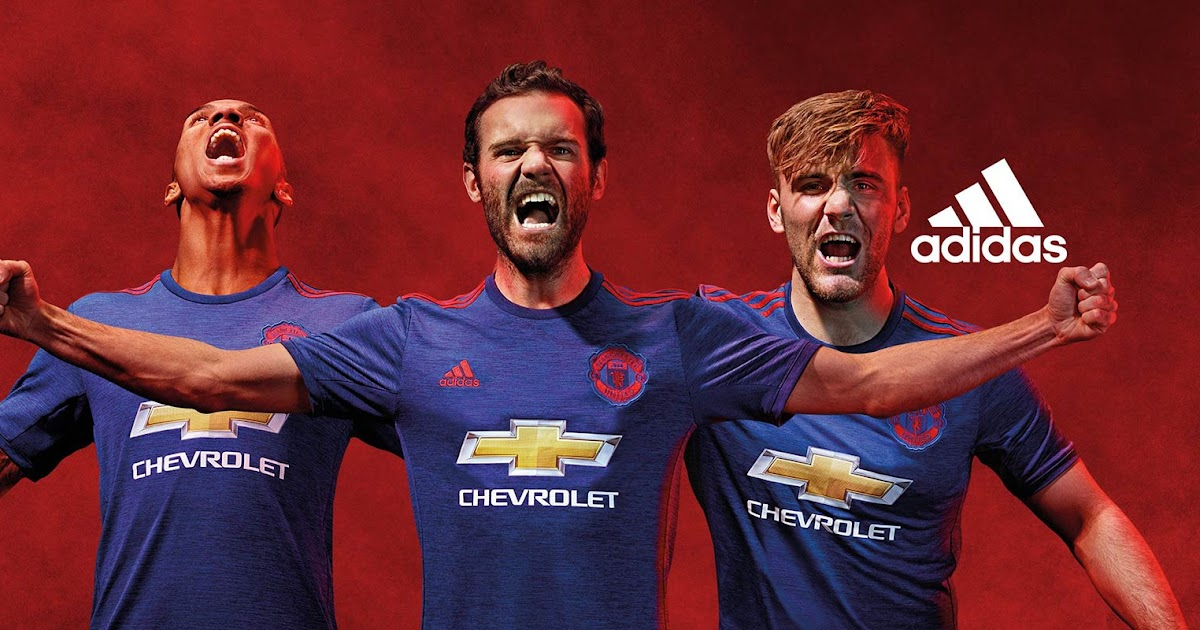 6fca15f46 Manchester United 16-17 Away Kit Released - Footy Headlines