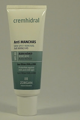 Crema Antimanchas de Laboratorios Zorgan