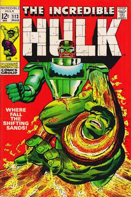 Incredible Hulk #113, the Sand Man
