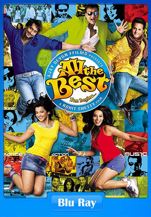 All the Best 2009 Hindi BRRip 720p x264 | 480p 300MB | 100MB HEVC