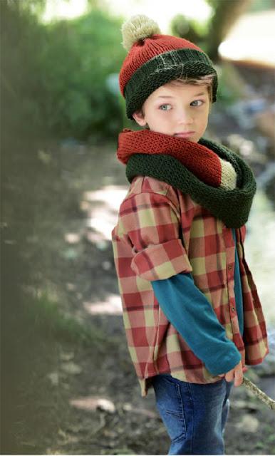 Moda para chicos invierno 2017: accesorios, gorros, bufandas.